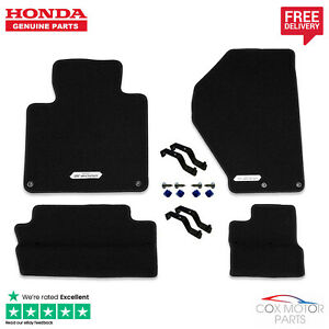Genuine-Honda-S2000-Premium-Black-Carpet-Mats-LHD