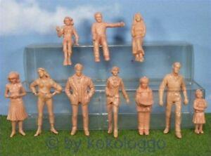 F30-LGB-gt-Spur-G-gt-20-Stueck-Figuren-stehend-sitzend-unbemalt