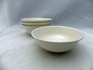 "Pfaltzgraff Tea Rose pattern - set/lot of 4 Cereal/Soup bowls - 6"" - USA - EUC"