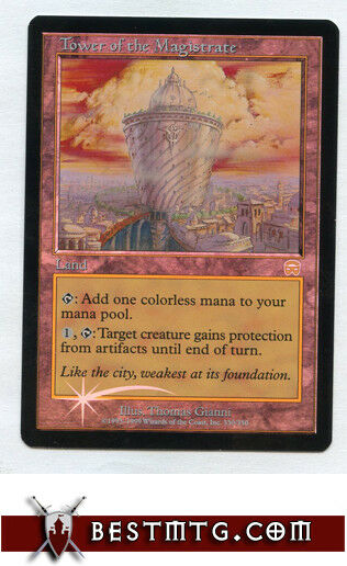 MTG - Tower Tower Tower of the Magistrate  A Foil - Mercadian Masques c7f3b4