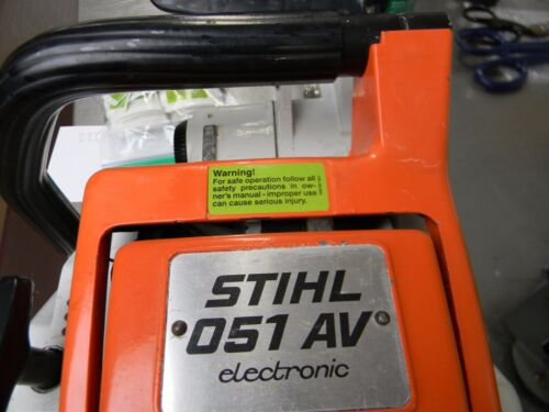 WARNING LABEL DECAL STICKER FOR STIHL CHAINSAW 015 031 028 051 075 045 056 MORE