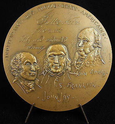 Médaille The Declaration Of The Thirteen United States Of America 1974 Medal