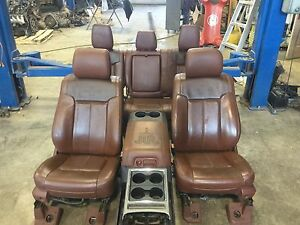 2012 ford king ranch seats ebay. Black Bedroom Furniture Sets. Home Design Ideas