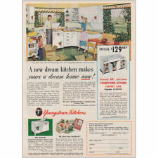 1953 Youngstown Kitchens A New Dream Kitchen Vintage Print Ad