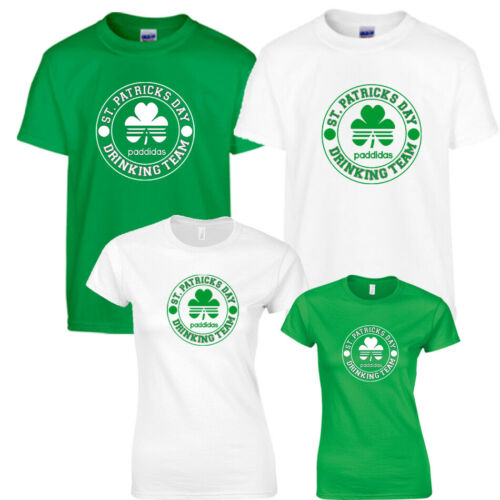 St Patrick/'s Day Irish Traditions Mens Womens Green Top T-Shirt Festival