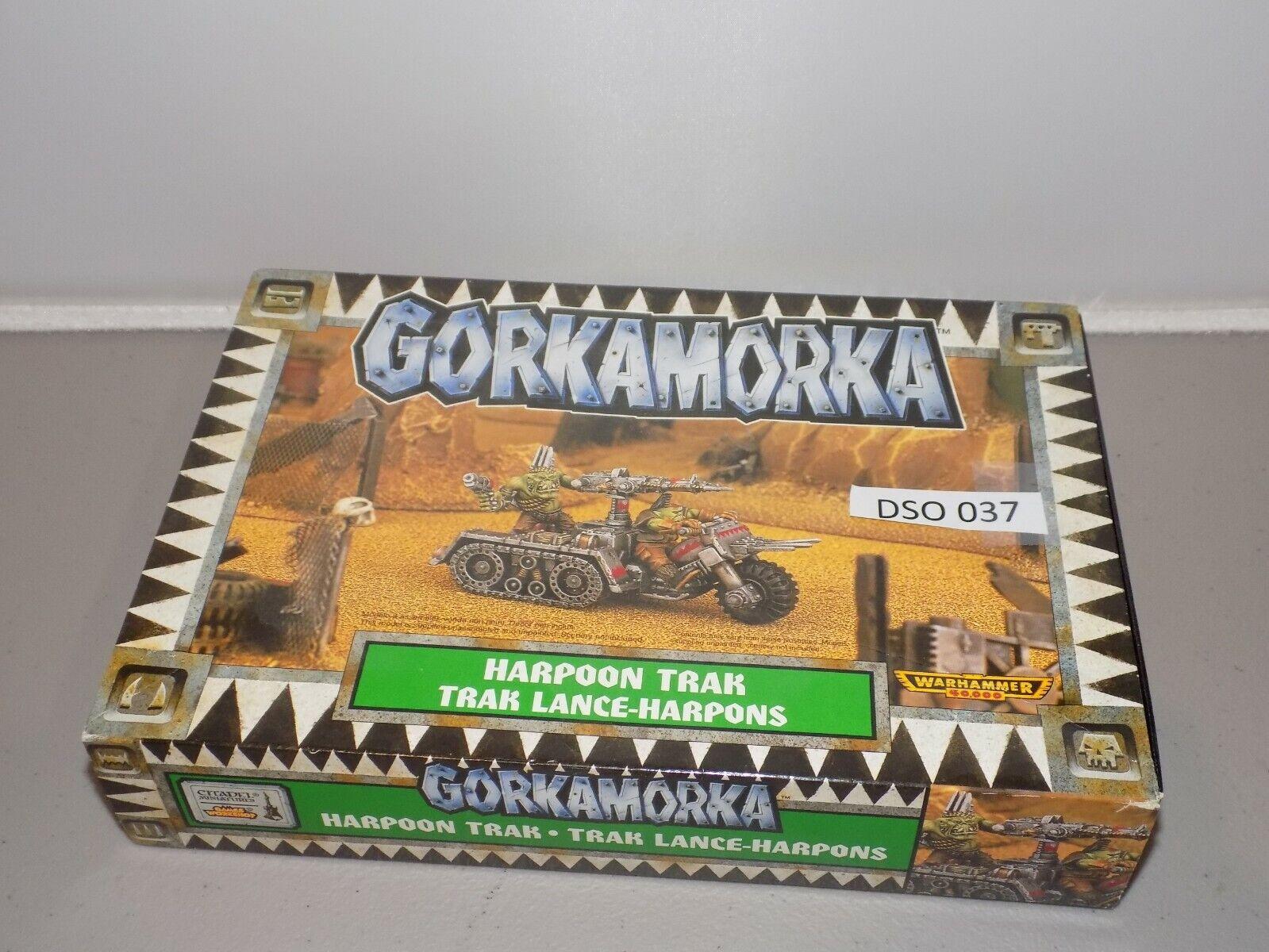 Warhammer 40k Orks Orks Orks GORKAMORKA HARPOON TRAK NIB out of print (DSO 37) 4a5956