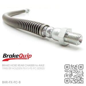 BRAKEQUIP-BRAKE-HOSE-REAR-CHASSIS-to-DIFF-HOLDEN-FX-FJ-FE-FC-UTE-VAN-SEDAN