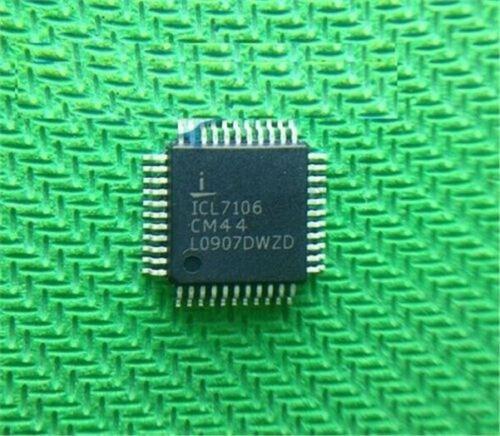 5Pcs ICL7106CM44 ICL7106 A//D Converter QFP-44 New Ic rg