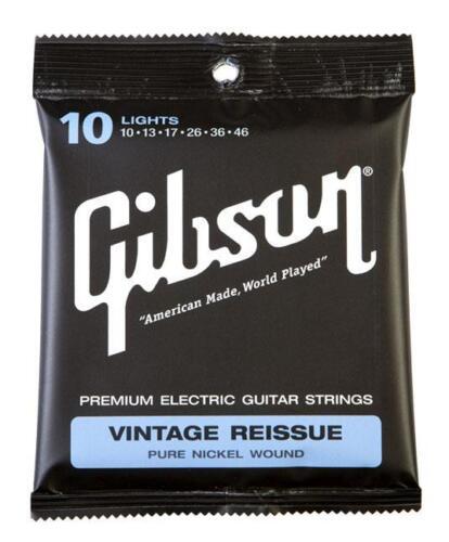 GIBSON VINTAGE REISSUE LIGHT E-GITARREN SAITEN STÄRKE .010 .046 SOUND DER 50ER