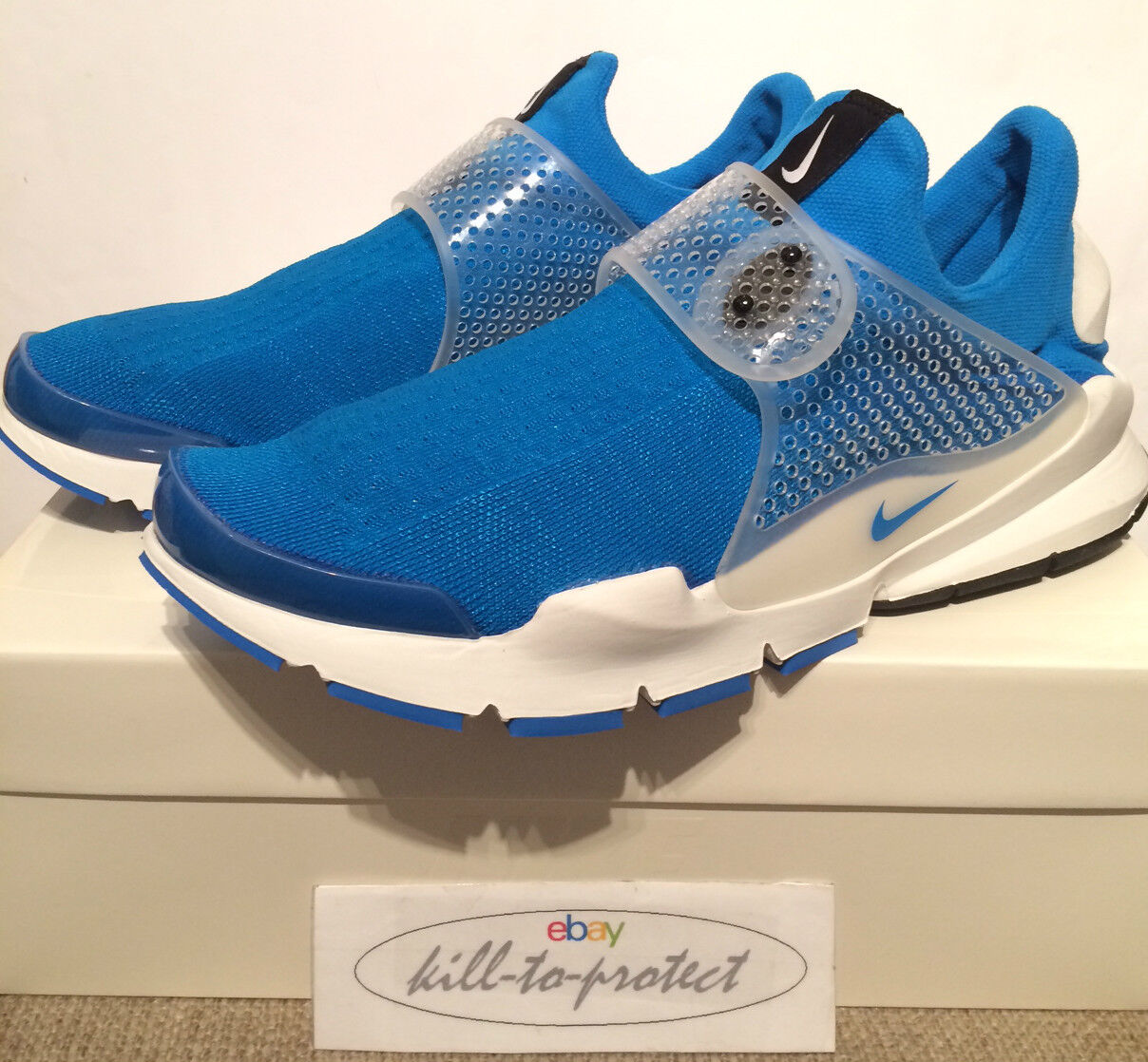 FRAGMENT x NIKE SOCK DART PHOTO blueE Sz UK US 8 9 10 11 SP 728748-401 HTM 2014