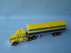 Pneus Matchbox Convoy Peterbilt Michelin Pneus en boîte, modèle 165 Mm