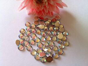 1000 5mm AB rond dos plat strass iQR2U6so-07210107-843525918