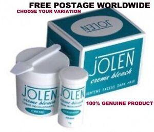 100-GENUINE-Jolen-Creme-Bleach-Lightens-Dark-Facial-Hair-Cream-CHOOSE-QUANTITY