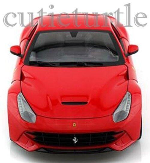 Hot Wheels Ferrari F12 Berlinetta 1 18 Diecast Model Car BCJ72 Red