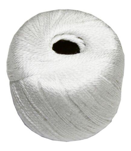 0851 Stopftwist Stopfgarn Baumwolle 8-fach mercerisiert 20 m weiß