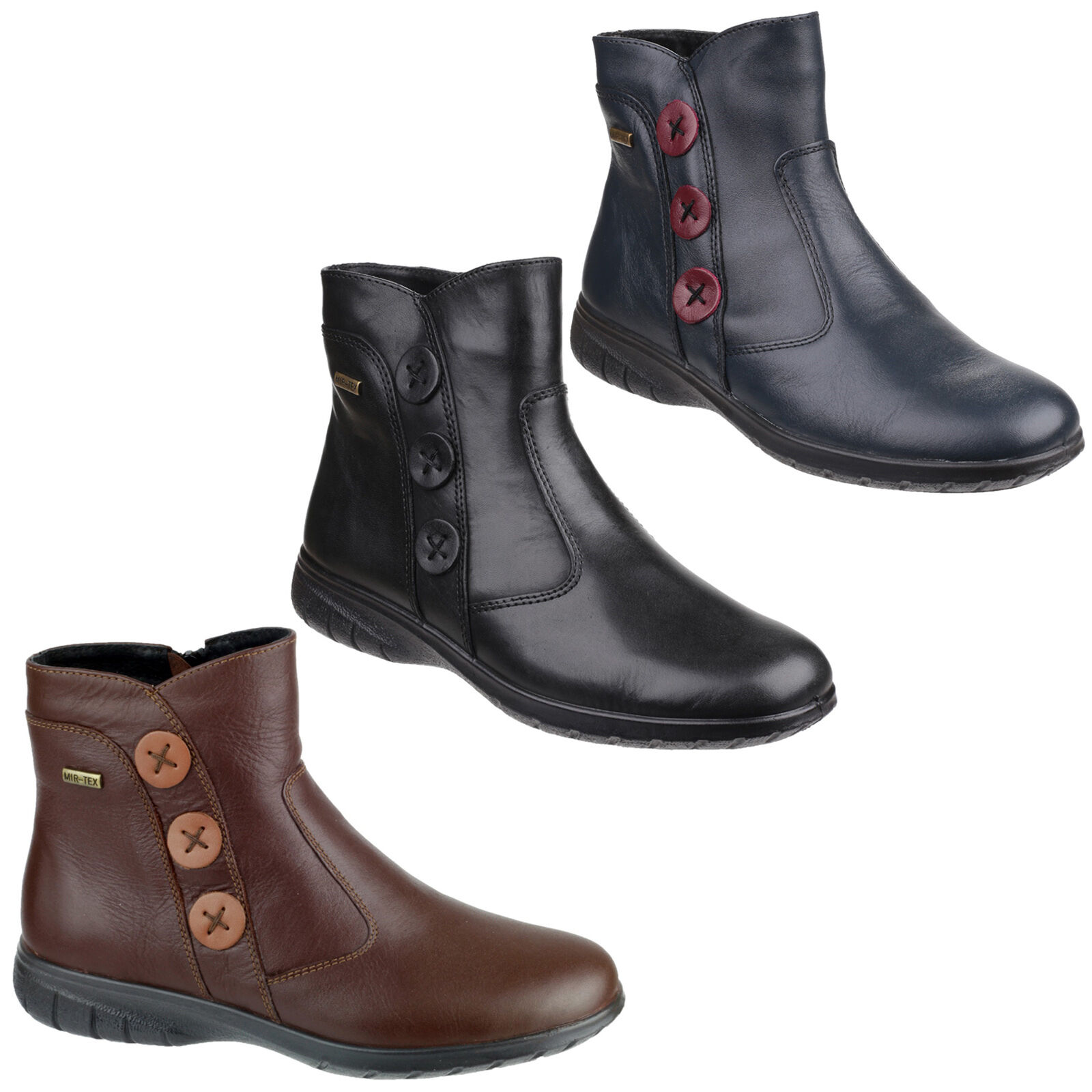 Cotswold Dowdeswell Womens Zip-up Ankle Boot  UK3-8