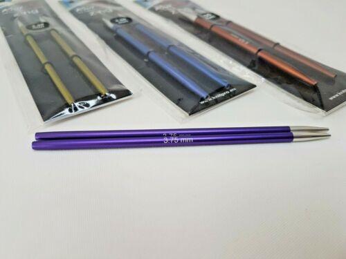 KnitPro Zing interchangeables les aiguilles LONGUEUR STANDARD tailles 3.5-8 mm