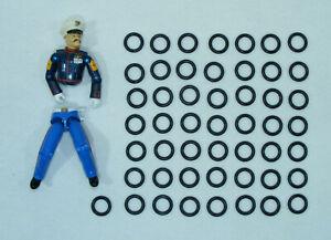 Kit réparation Gi Joe Lot de 30 élastiques NEUF Expedition 24H g.i joe repair