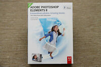 Genuine Adobe Photoshop Elements 8 Full Retail For Mac Sealed