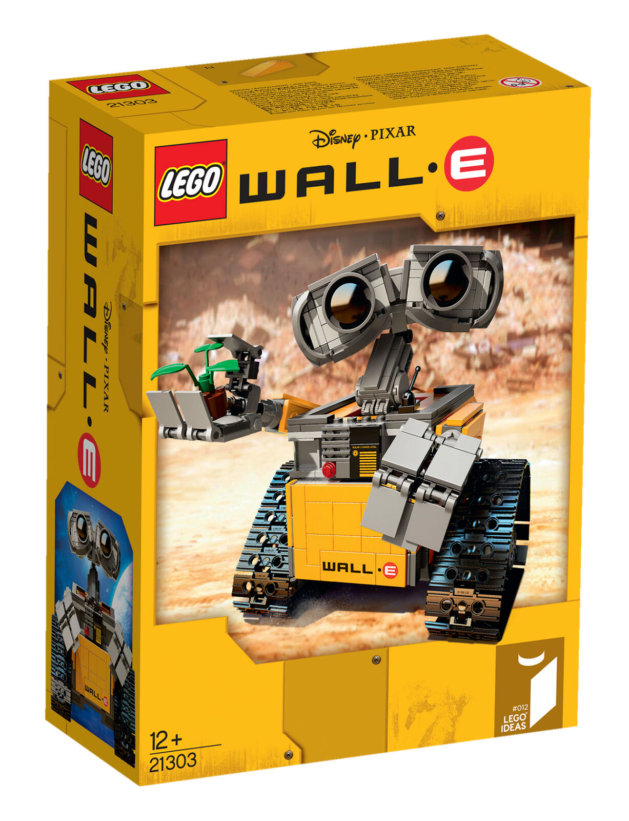 LEGO Ideas WALL-E (21303) free UK Postage