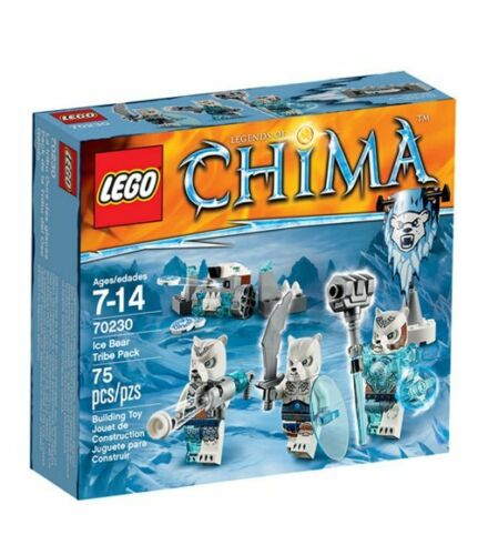 LEGO 70230 Legends of Chima Ice Bear Tribe Pack
