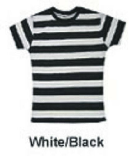 """BLACK AND WHITE LADY FIT T-SHIRT SIZE S//M 32/"""" CHEST"""