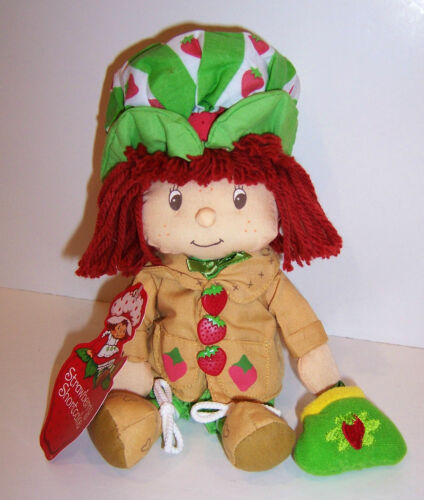 """Licensed /""""Vintage/"""" STRAWBERRY SHORTCAKE 15/"""" PLUSH Character DOLL TOY NEW!!"""