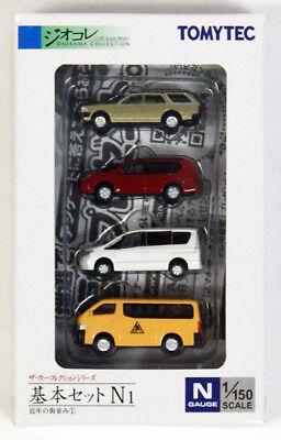 Amichevole Tomytec The Auto Collezione Basic Set N1 1/150 Scala N