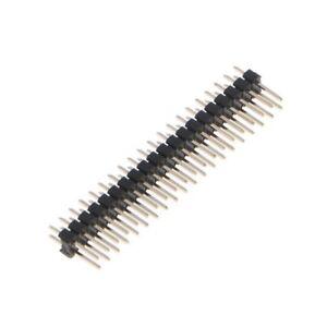 2Pcs-2-54mm-2x20-Pin-Break-away-Dual-Male-Header-Pin-for-Raspberry-Pi-Zero-GPIO