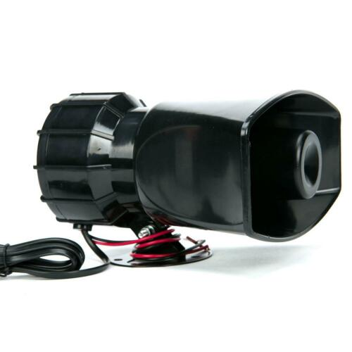 Car Siren Speaker 12V 100W 7 Tone Sound With Mic