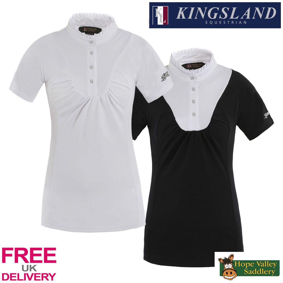 Kingsland Jenna Camicia A A Camicia Maniche Corte Show (142-ss-511 ~) - VENDITA * SPEDIZIONE GRATUITA IN UK * 47c48d