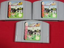INTERNATIONAL SUPERSTAR SOCCER 64 NINTENDO 64 ISS 64 N64