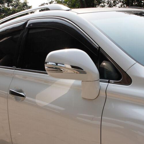 For Lexus RX270 RX350 RX450 2010-2015 Chrome Rearview Mirror Cover Trim Strip 2X