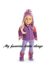 586f1623dd American Girl Truly Me Warm Winter Outfit AND Accessories hat 18 ...