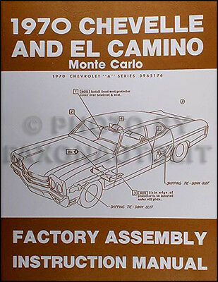 1973 Engine and Transmission Rebuild Manual Chevelle El Camino Monte Carlo Nova