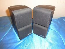 Pair of BOSE Redline Double Cube Swivel Speakers BLACK Lifestyle/Acoustimass