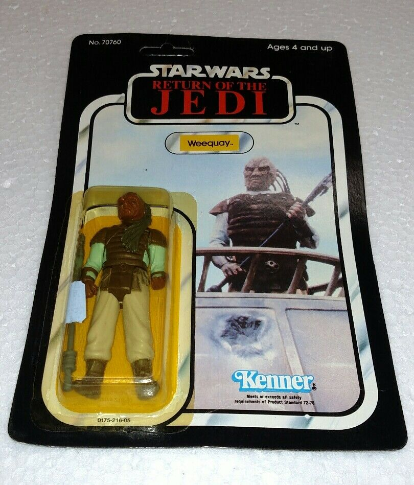 VINTAGE STAR WARS RETURN OF THE JEDI ROTJ KENNER 1983 BRAND NEW