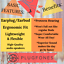 Naranja-Plugfones-aislamiento-del-ruido-Audifonos-EARPLUGS-Auriculares-De-Proteccion-Auditiva miniatura 2