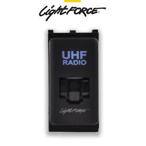 LIGHTFORCE-RJ45-BLUE-LED-UHF-RADIO-PASS-THROUGH-SUIT-NISSAN-GU-D40-NP300Y62-Y61