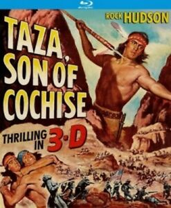 Taza-Son-Of-Cochese-3-D-1954-REGION-A-Blu-ray-New