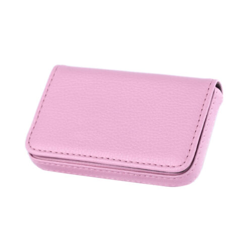 Men/&Women Pocket PU Leather Business ID Credit Gift Card Holder Case Wallet TES