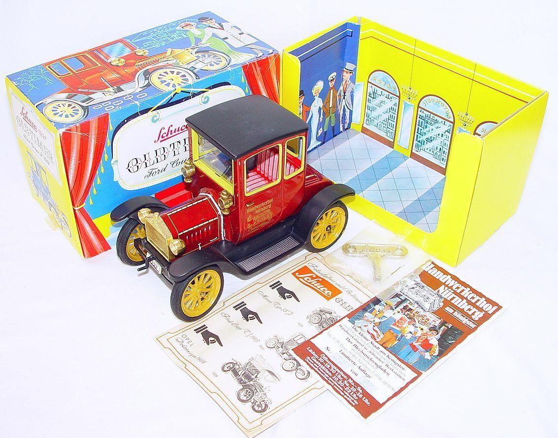 Schuco Alemania Ford T Coupé 1917 Barco Antiguo Juguete Museo Edition 88 juguete de estaño coche sin usar, en Caja