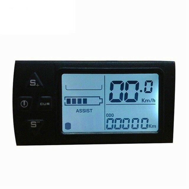 Bike Computer Electric Bicycle LCD Display Electric  Bike Manual Control Panel  save up to 50%