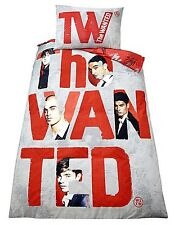 "100% OFFICIAL THE WANTED ""FOREVER"" SINGLE BED DUVET COVER QUILT COVER SET BOYS"