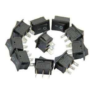 5pcs-AC-On-Off-3-Pin-Terminal-Snap-in-Boat-Rocker-Switch-Black-6A-250V-10A-125V