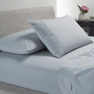 Bianca-Heston-300TC-100-Cotton-Percale-Sheet-Set-Steel-Blue