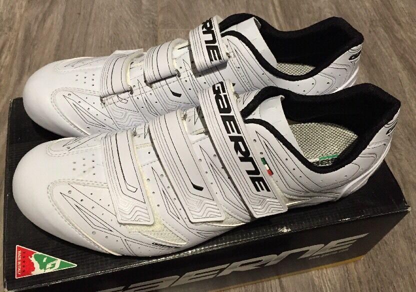 PROMO : CHAUSSURES ROUTE DE  MARQUE GAERNE G AVIA BLANC ( Schuhe ) NEUVE BOITE 39