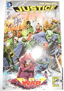 2013-SDCC-COMIC-CON-DC-Exclusive-JUSTICE-LEAGUE-22-Variant-Wrap-Around-Cover-NM