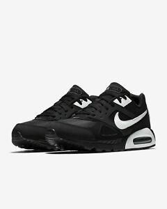 Nike Air Max IVO Shoes Black White 580518-011 Men's NEW