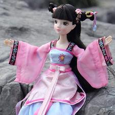 Pretty China Ancient Little Girl Dress Doll Kurhn Chinese Barbie Doll Figure Toy